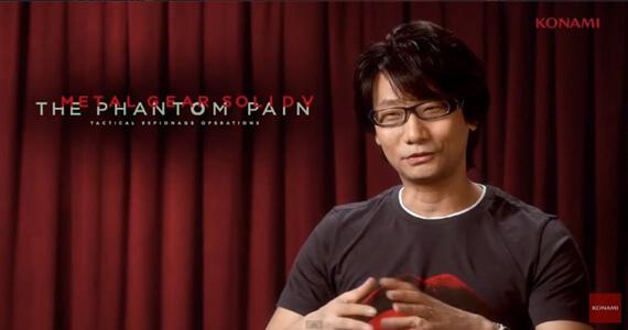 Kojima Metal Gear Solid V Konami Phantom Pain