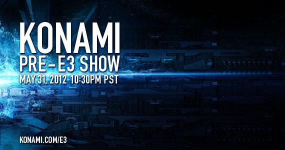 Watch Now: Konami Pre-E3 Show