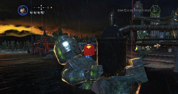 LEGO Batman 2 Review - Open World Gameplay