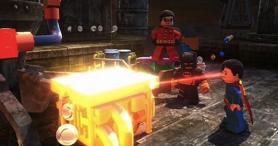 LEGO Batman 2 Review - Superman Gameplay