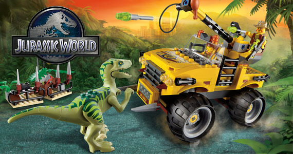 LEGO Jurassic World Game Arriving in 2015