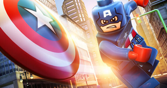 'Marvel LEGO Super Heroes' Trailer Swoops in from Gamescom