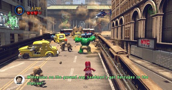 LEGO Marvel Super Heroes Review - Gameplay