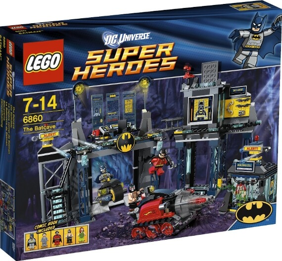 LEGO Super Heroes Toy Sets