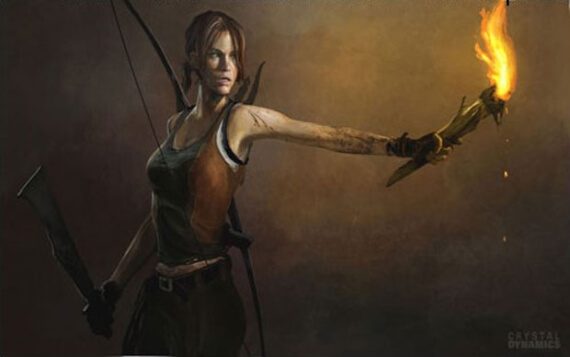 Lara Croft and the Guardian of Light concept art