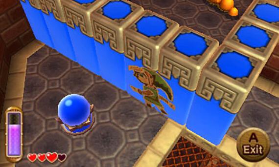 Legend of Zelda: A Link Between Worlds Dungeon Puzzle
