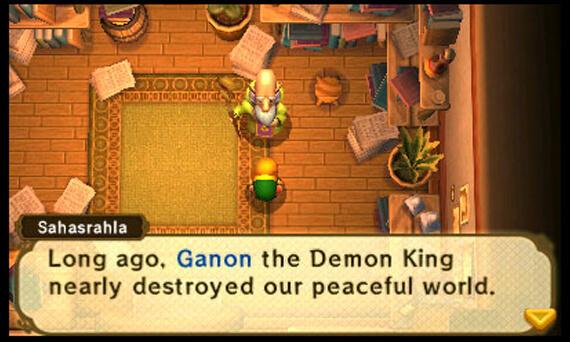 Legend of Zelda: A Link Between Worlds References