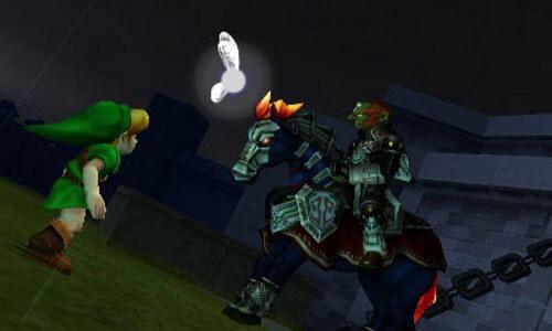 Legend of Zelda Ocarina of Time 3D