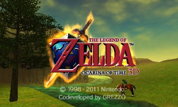Legend of Zelda Ocarina of Time 3D Screenshots