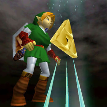 Triforce in Ocarina of Time