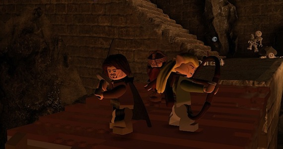 Lego Lord of the Rings Review - Gameplay