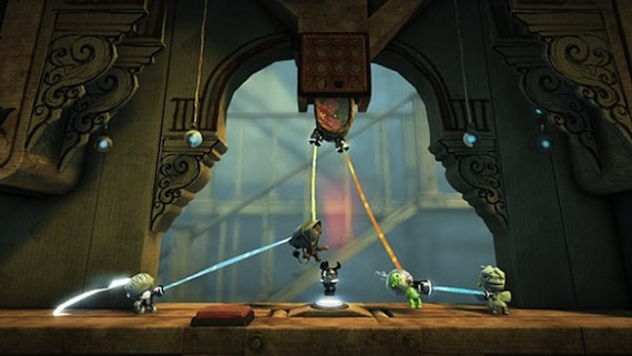 Little Big Planet 2 Grappling Hook Gameplay