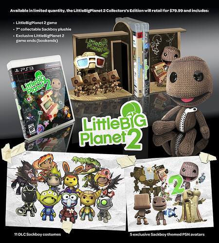 LittleBigPlanet 2 Collector Edition