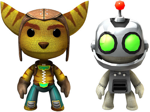 LittleBigPlanet 2 Ratcher and Clank