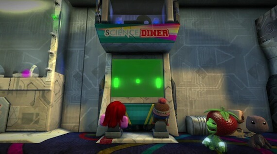 LittleBigPlanet 2 Review - Pong Game