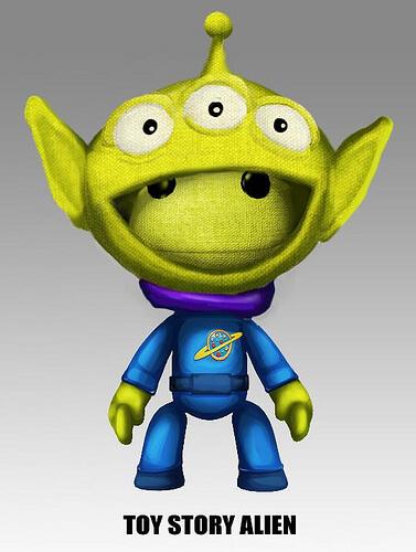 LittleBigPlanet 2 Toy Story