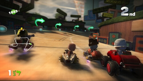 LittleBigPlanet Karting Tracks