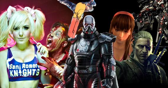 SWTOR, SSX, Max Payne 3, Witcher 2, Saints Row 3, KoA, Armored Core V
