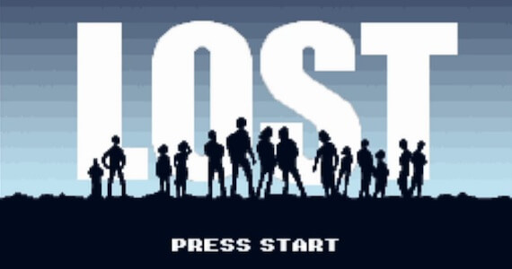 'LOST' RPG: Watch the Entire Show as a 16-Bit Video Game in 6 Minutes