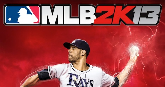 2K Sports Announces 'MLB 2K13' is Coming, Unveils Cover Athlete David Price