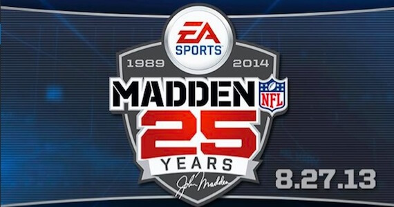 'Madden NFL 25′ Announced for 2013; Cover Athlete Vote Features NFL Legends