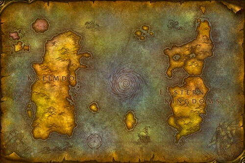 World of Warcraft: Map-of-azeroth