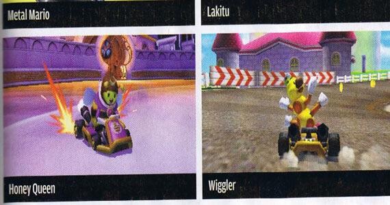 Mario Kart 7 Playable Roster Revealed
