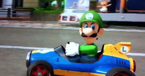 Mario Kart 8 Angry Luigi