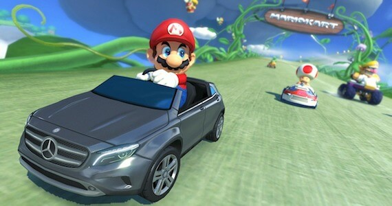'Mario Kart 8' Mercedes DLC Coming to North America