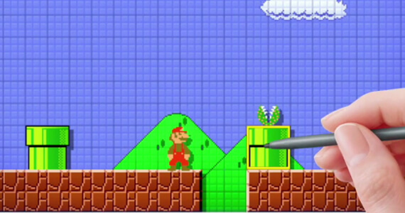 'Mario Maker' Lets You Make Your Own Levels