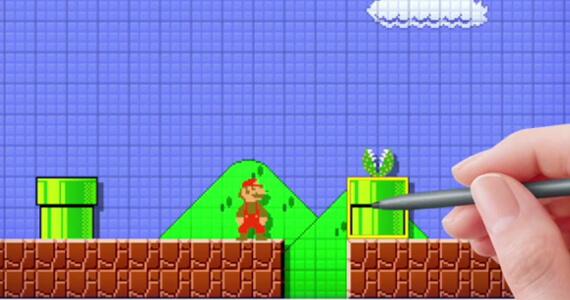 Mario Maker E3 Header Image