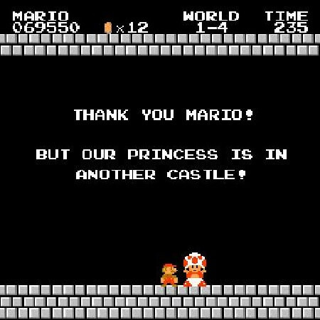 Mario - Our princess is in another castle