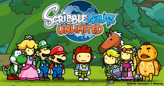 Nintendo Characters to Show up in 'Scribblenauts Unlimited'