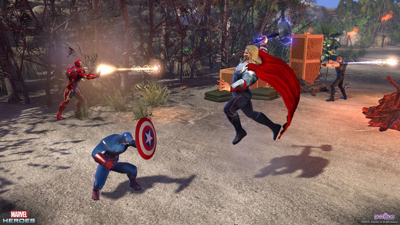 'Marvel Heroes' Open Beta Launches Alongside 'Iron Man 3'
