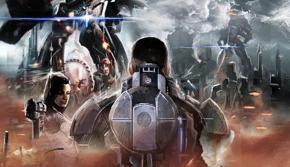 More Incredible 'Mass Effect 3' Fan Art