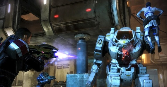 gamescom 2011 mass effect 3 combat trailer images feature the squad leader game rant