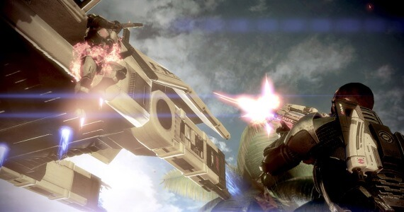 Mass Effect 3 Demo Combat