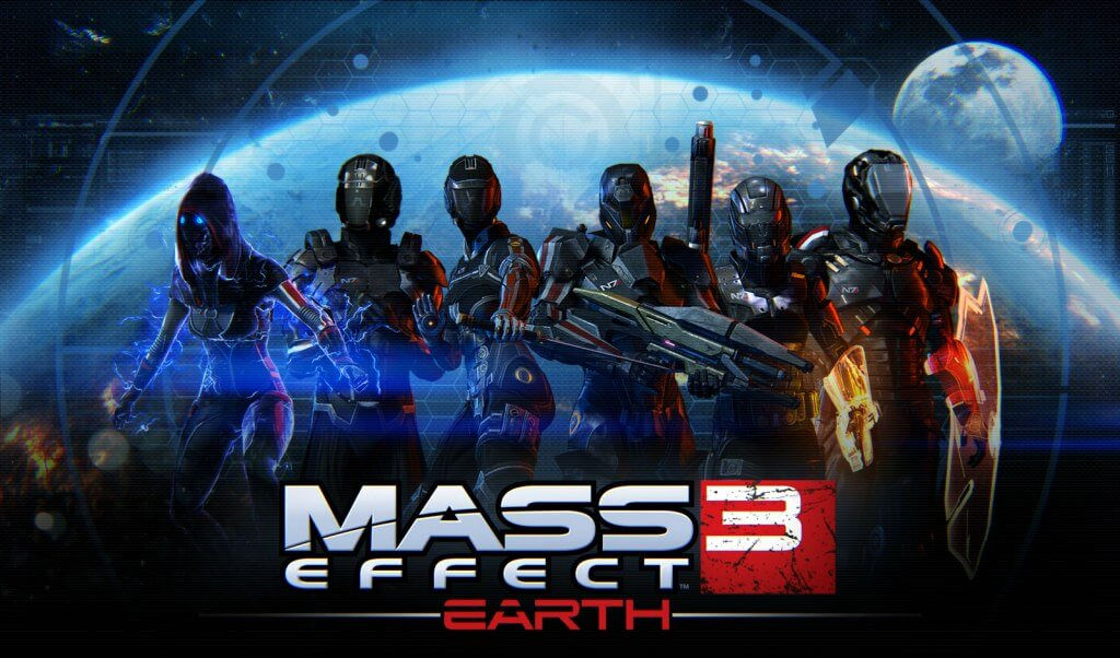 'Mass Effect 3' Earth DLC Trailer