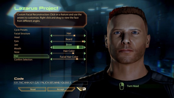 Mass Effect 3 Face Import Problems