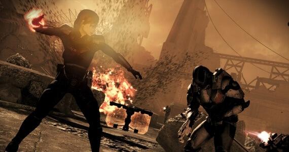 Mass Effect 3 Female Shepard Cerberus