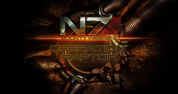 'Mass Effect 3' Operation Raptor N7 Bounty Weekend Details [Updated]