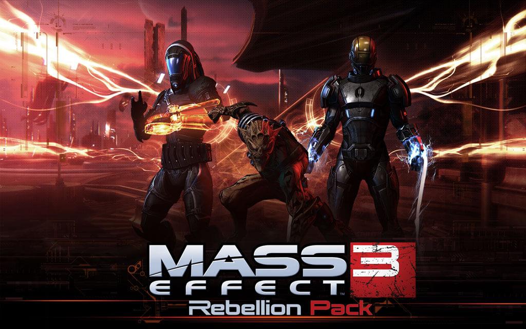 'Mass Effect 3: Rebellion' DLC Adds New Objective & Gear Type
