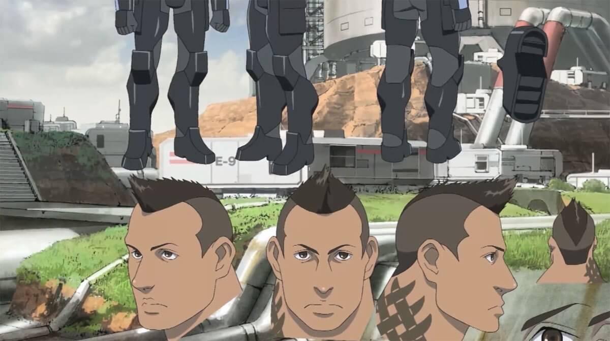 James Vega is 'Mass Effect' Anime Main Character; Releasing Fall 2012