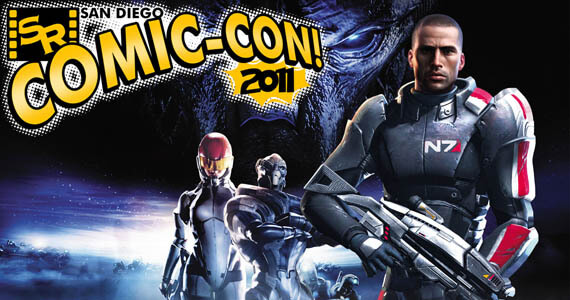 Mass Effect movie panel at Comic-Con 2011
