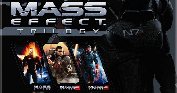 'Mass Effect Trilogy' DLC Details Revealed