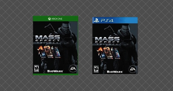 'Mass Effect Trilogy' For PS4/Xbox One
