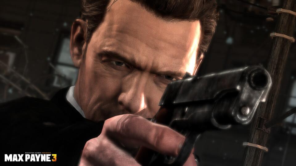 Four New 'Max Payne 3′ Screenshots Focus On Guns