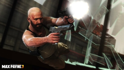 Max Payne 3 Bullet Time Bald Duel Wield Rockstar