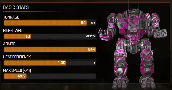 MechWarrior Online Update: Big Pink Music Mech & Artillery Strikes