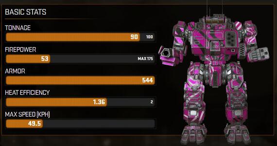 MechWarrior Online Update: Big Pink Music Mech & Artillery Strikes